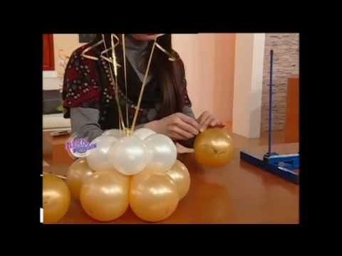 roberto poletto bienvenidas tv decora con globos un centro de mesa para bodas youtube