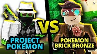 Pokemon Brick Bronze vs Project Pokemon (Roblox Pick A Side)
