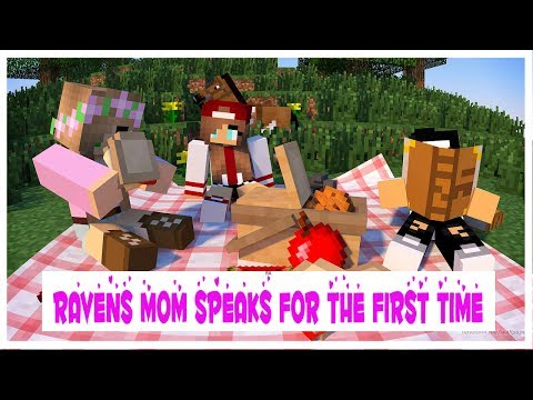 RAVENS MOM SPEAKS FOR THE FIRST TIME w/LITTLE KELLY and RAVEN | Minecraft ROYAL FAMILY