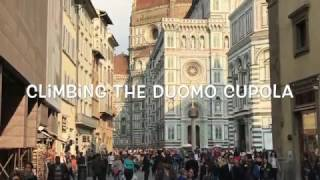 Climbing the Duomo in Florence