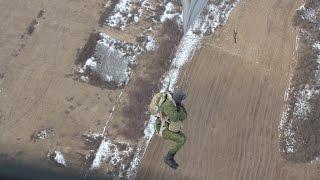 Скачать Витебские десантники совершили очередные парашютные прыжки