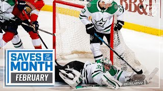 Best Saves of February | 2021 NHL Season