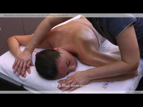 Sensations orientales treatment specific modelling movements