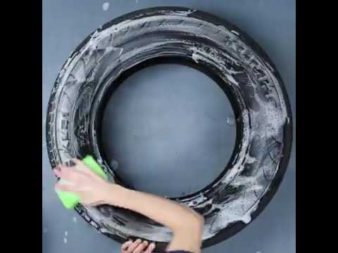 How to use waste tyre