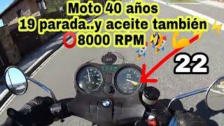 Despierta a 8000 RPM💥 después de 19 años!!!! Prueba carburadores BING!! BMW R65 onboard