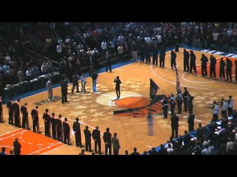 Tina Brown - The National Anthem of the United States of America.avi