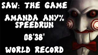 "SAW: The Game - Amanda Any% Speedrun - 08'38"""