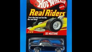 revision review 415 hot wheels 2008 series 7 real riders 65 mustang