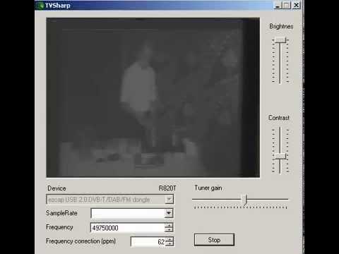TVSharp R820T SDR sound via Yaesu VX-7:)