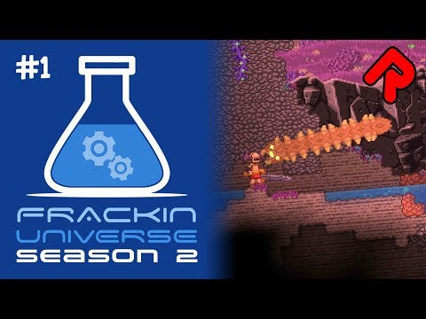 Let's play Starbound Frackin' Universe S2 ep1: Back in the Frackin'!