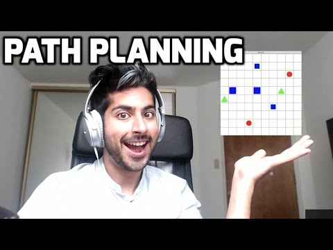 How to Make a Path Planning Algorithm Easily (LIVE)