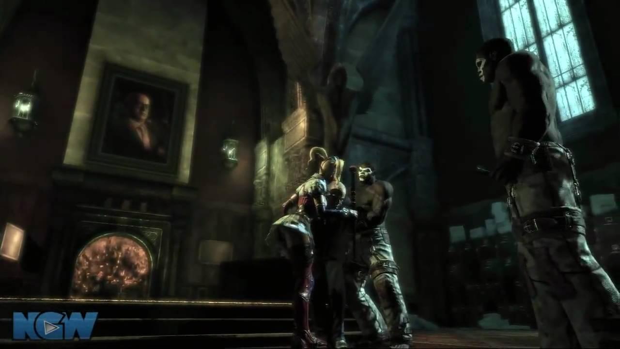 Batman: Arkham Asylum Walkthrough - Arkham Mansion: Locate ...