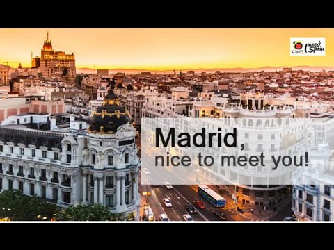 Madrid, nice to meet you! (Live Webcast)