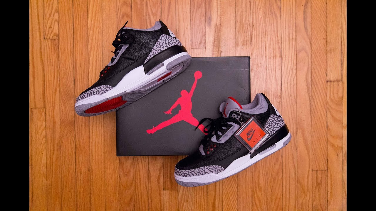 The MOST iconic 3 there is? || Air Jordan 3 Retro OG Black Cement Review  and On Feet