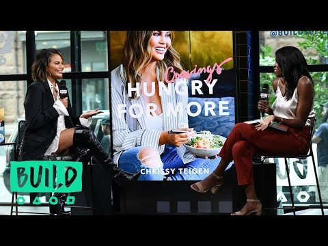 Chrissy Teigen Talks About Her Latest Book, Cravings: Hungry for More