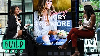 Chrissy Teigen Talks About Her Latest Book, 'Cravings: Hungry for More'
