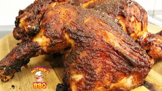 Grilled Chicken Recipe with a maple-bourbon BBQ sauce  PitBarrel Cook