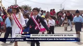 DESFILE ESCOLAR EN SECTOR NOROESTE DE PIURA-UCV NOTICIAS PIURA