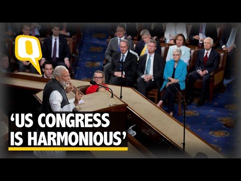 "The Quint: PM Modi Shows Humour Pertaining to ""Upper House"""