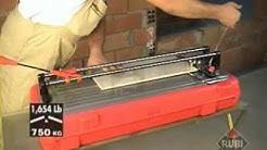 Rubi TS Plus Tile Cutter - TS 40 Plus, TS 50 Plus, TS 60 Plus, TS 70 Plus,