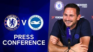 Frank Lampard on Christian Pulisic's Impact, Callum Hudson-Odoi & Reece James | Chelsea v Brighton
