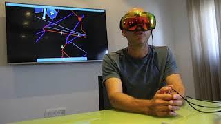 RideOn AR ski goggles demo