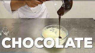 Dark Chocolate and Orange Mousse