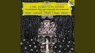 Weber: Trio for Piano, Flute and Violoncello in G minor, op.63 (J259) - 1. Allegro moderato