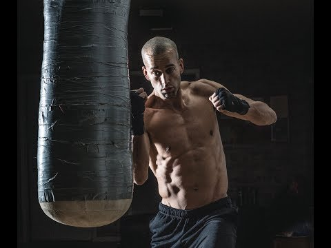 30 Minute Boxing Heavy Bag HIIT. Punching Power