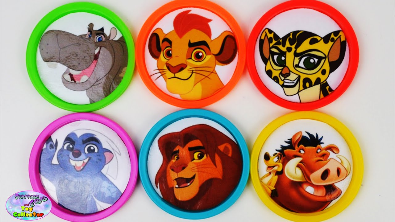 Learn Colors Disney Junior Jr The Lion Guard Disney Car