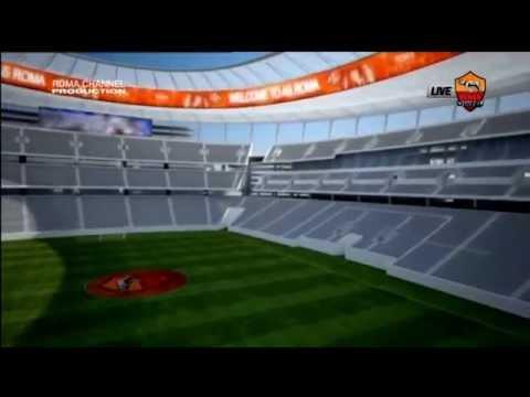 Tour Virtuale All 39 Interno Del Nuovo Stadio Della Roma