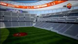 Tour virtuale all'interno del Nuovo Stadio Della Roma.