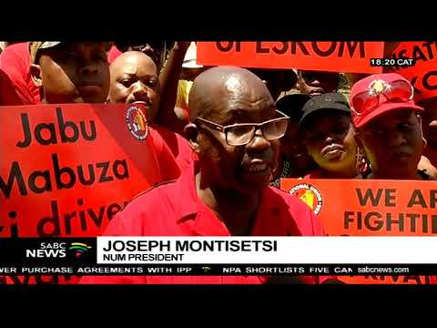 NUM threatens to cut off electricity countrywide