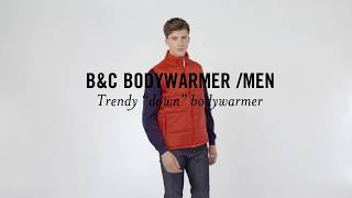 B&C BODYWARMER /MEN: JM 930