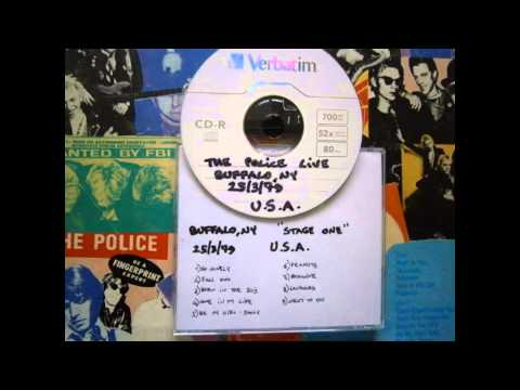 """THE POLICE - Buffalo, NY """"Stage One"""" 25-03-1979 (full show)"""