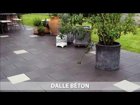 Dalle jardin youtube for Dalle de sol exterieur
