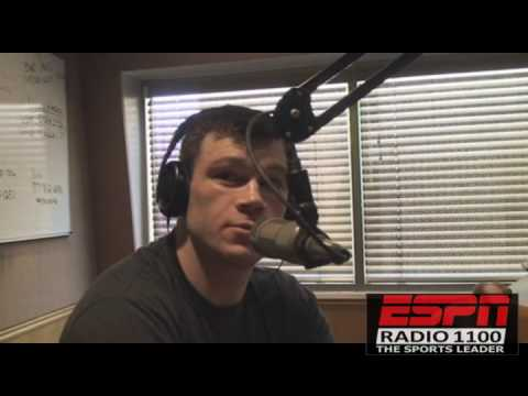 FORREST GRIFFIN talks fan reaction on his fight Anderson Silva