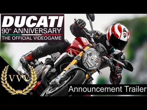 ducati 90th anniversary announcement trailer - youtube