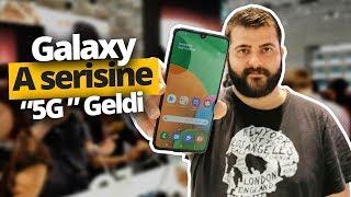 Samsung Galaxy A90 5G ön inceleme - Bu telefona rakip aranıyor!