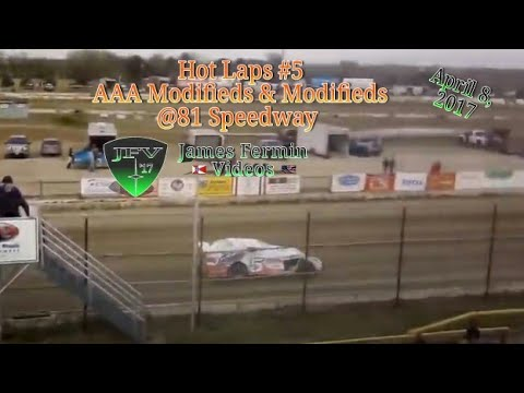 AAA Modified/Modified Hop Laps #1, 81 Speedway, 2017