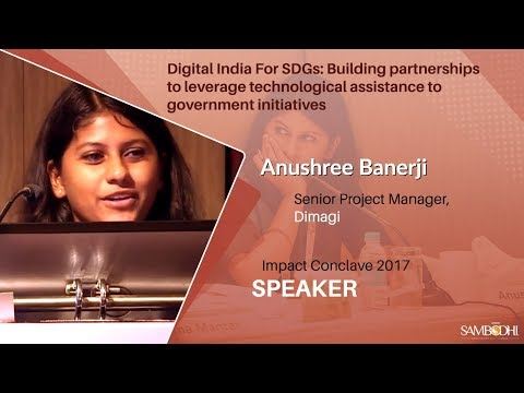 Digital India For SDGs:Building partnerships to leverage tech assistance to govt initiatives