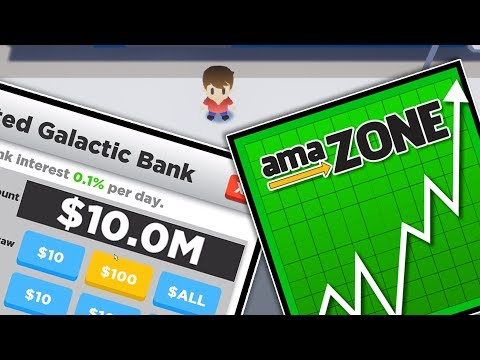 I Invested $10,000,000 In Amazon Stock In Super Life RPG