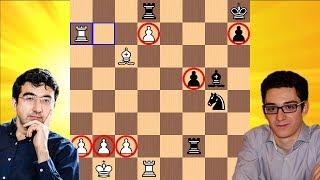 A Great Race   Vladimir Kramnik vs Fabiano Caruana   2018 Candidates Chess Tournament