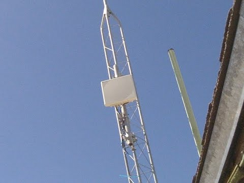 Motorola Point To Point Microwave Backhaul Link, Very Basic Intro
