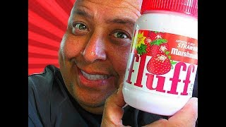 Strawberry Marshmallow Fluff® FOOD TASTING & REVIEW!