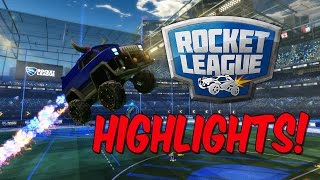 Rocket League HIGHLIGHTS #1 (Epic Saves/Aerial Goals) Getting Better!