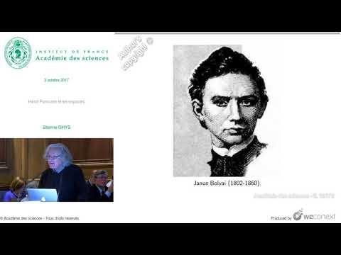 [Conférence] E. GHYS - Henri Poincaré et les espaces