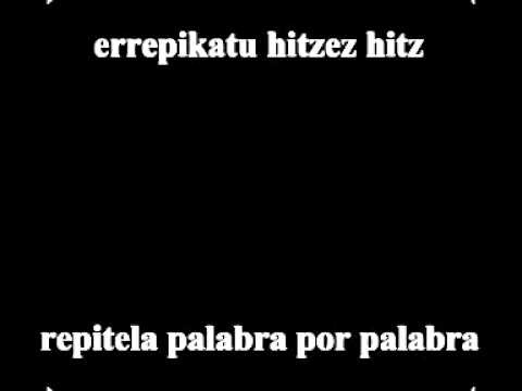 Berri Txarrak - Gezur bat mila aldiz ( Letra en español y euskera) // Libre