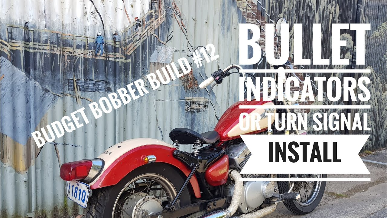 Budget Bobber Build #12 | Installing Bullet Indicators or Turn ...
