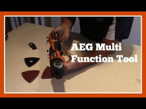 Tool Review - AEG Multi Function Tool OMNI18CXLI-202B